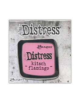 Tim Holtz Distress® Kitsch Flamingo Enamel Pin Pin Distress
