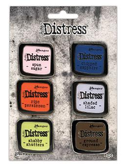 Tim Holtz® Distress Ink Pad Pin Set #6 Pin Distress