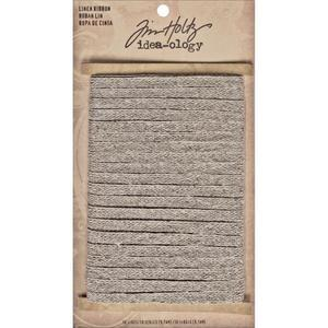 Tim Holtz® Idea-ology Trimmings - Linen Ribbon, 10yds Idea-ology Tim Holtz Other