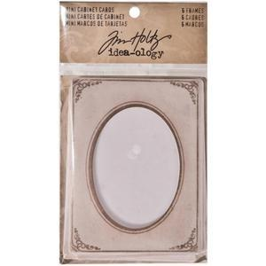 Tim Holtz® Idea-ology Findings - Mini Cabinet Cards Findings Tim Holtz Other
