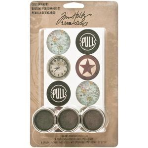 Tim Holtz® Idea-ology Findings - Custom Knobs Findings Tim Holtz Other