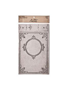 Tim Holtz® Idea-ology Paperie - Worn Cover - Chronicle - Large Idea-ology Tim Holtz Other