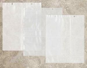 Tim Holtz® Idea-ology Paperie - Page Pockets - Mirrored Idea-ology Tim Holtz Other