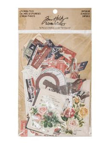 Tim Holtz® Idea-ology Paperie - Ephemera Pack - Emporium Idea-ology Tim Holtz Other