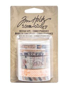 Tim Holtz® Idea-ology Paperie - Design Tape - Correspondence Idea-ology Tim Holtz Other