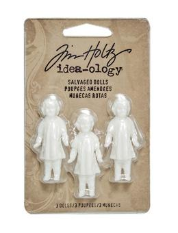 Tim Holtz® Idea-ology Findings - Salvaged Dolls Findings Tim Holtz Other