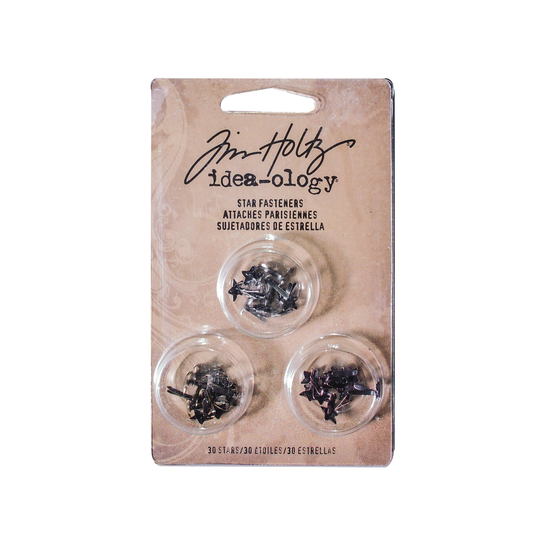Tim Holtz® Idea-ology Fasteners - Star Fasteners Idea-ology Tim Holtz Other