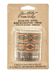 Tim Holtz® Idea-ology Paperie - Design Tape - Dapper Idea-ology Tim Holtz Other