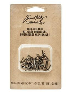 Tim Holtz® Idea-ology Fasteners - Hex Fasteners Idea-ology Tim Holtz Other
