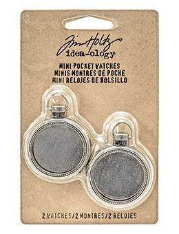 Tim Holtz® Idea-ology Findings - Mini Pocketwatches Findings Tim Holtz Other