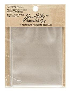 Tim Holtz® Idea-ology Structures - Flip Frame Pockets Idea-ology Tim Holtz Other