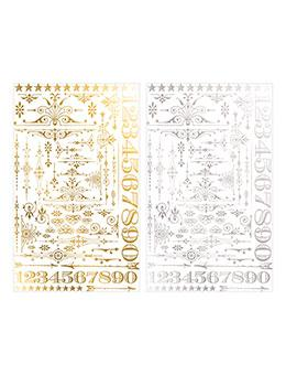 Tim Holtz® Idea-ology Paperie - Remnant Rubs - Gilded Accents Idea-ology Tim Holtz Other