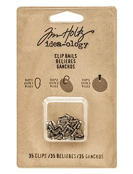 Tim Holtz® Idea-ology Fasteners - Clip Bails