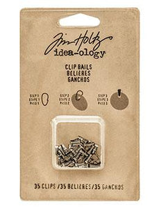 Tim Holtz® Idea-ology Fasteners - Clip Bails Idea-ology Tim Holtz Other