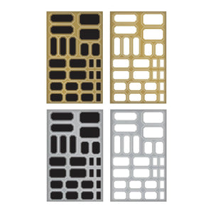 Tim Holtz® Idea-ology Paperie - Metallic Stickers - Labels Idea-ology Tim Holtz Other