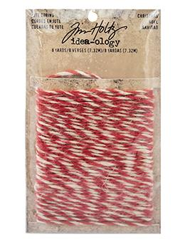 Tim Holtz® Idea-ology Trimmings - Jute String - Christmas