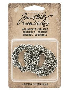 Tim Holtz® Idea-ology Findings - Adornments - Wreaths