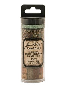 Tim Holtz® Idea-ology Paperie - Design Tape - Vintage Idea-ology Tim Holtz Other