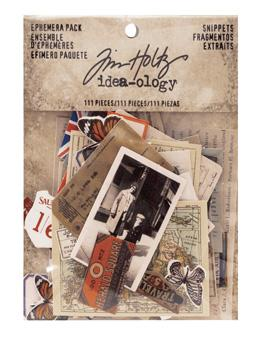 Tim Holtz® Idea-ology Paperie - Ephemera Pack - Snippets Idea-ology Tim Holtz Other