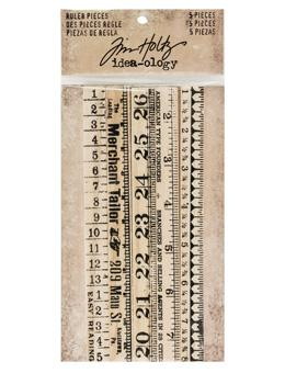 Tim Holtz® Idea-ology Findings - Ruler Pieces