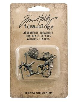 Tim Holtz® Idea-ology Findings - Adornments - Treasures Findings Tim Holtz Other