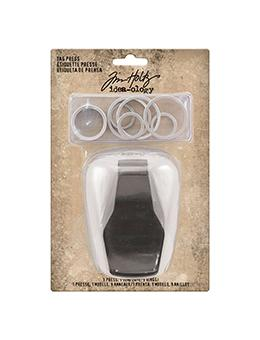 Tim Holtz® Idea-ology Tools - Tag Press - Tag Press Tool Tools & Accessories Tim Holtz Other