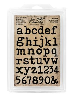 Tim Holtz® Idea-ology Stamps - Type Lower Stamps Tim Holtz Other