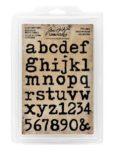 Tim Holtz® Idea-ology Stamps - Type Lower