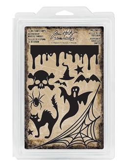 Tim Holtz® Idea-ology Findings - Foam Stamps Halloween