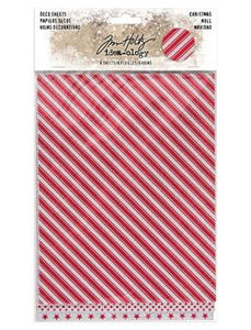 Tim Holtz® Idea-ology DECO SHEETS, CHRISTMAS
