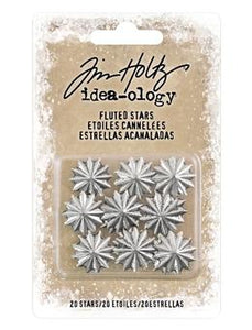 Tim Holtz® Idea-ology Fluted Stars Findings Tim Holtz Other