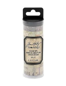 Tim Holtz® Idea-ology DESIGN TAPE, HUMIDOR Adhesives & Mediums Tim Holtz Other