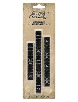 Tim Holtz® Idea-ology  MEASUREMENTS