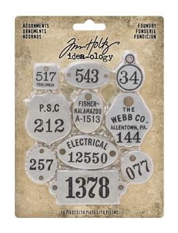 Tim Holtz® Idea-ology ADORNMENTS, FOUNDRY