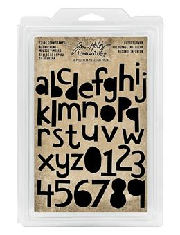 Tim Holtz® Idea-ology FOAM STAMPS, CUTOUT LOWER