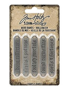 Tim Holtz® Idea-ologyWord Bands Halloween