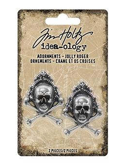 Tim Holtz® Idea-ology Adornments Jolly Rodger