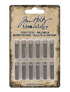 Tim Holtz® Idea-ology Story Sticks Halloween