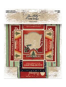 Tim Holtz® Idea-ology Vignette Box Tops Christmas
