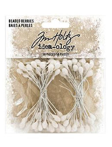 Tim Holtz® Idea-ology BEADED BERRIES Findings Tim Holtz Other