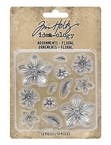 Tim Holtz® Idea-ology Findings - Adornments Floral