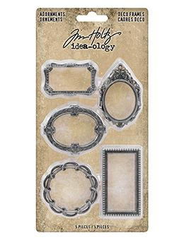 Tim Holtz® Idea-ology Findings - Adornments Deco Frames Findings Tim Holtz Other