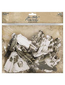 Tim Holtz® Idea-ology Paperie - Baseboard Dolls Idea-ology Tim Holtz Other