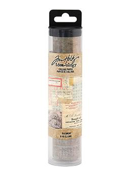 Tim Holtz® Idea-ology Paperie - Collage Paper Document Idea-ology Tim Holtz Other