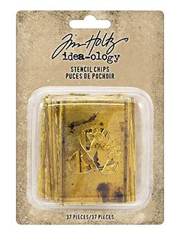 Tim Holtz® Idea-ology Paperie - Stencil Chips