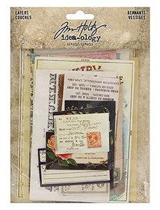 Tim Holtz® Idea-ology Paperie - Layers Renmants Idea-ology Tim Holtz Other