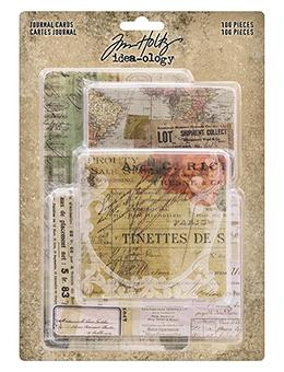 Tim Holtz® Idea-ology Paperie - Journal Cards Idea-ology Tim Holtz Other