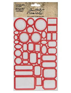 Tim Holtz® Idea-ology Paperie - Classic Label Stickers Idea-ology Tim Holtz Other