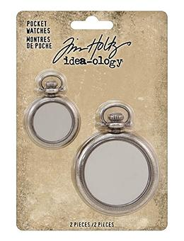 Tim Holtz® Idea-ology Findings - Pocket Watches