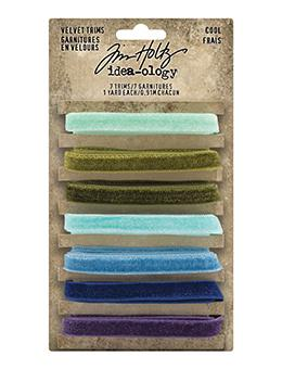Tim Holtz Idea-ology Velvet Trims Cool Idea-ology Tim Holtz Other